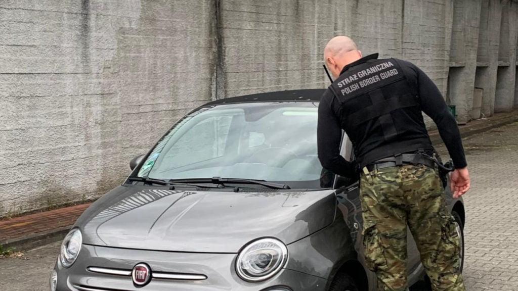Dwa Fiaty skradzione na terenie Niemiec odzyskane. 1