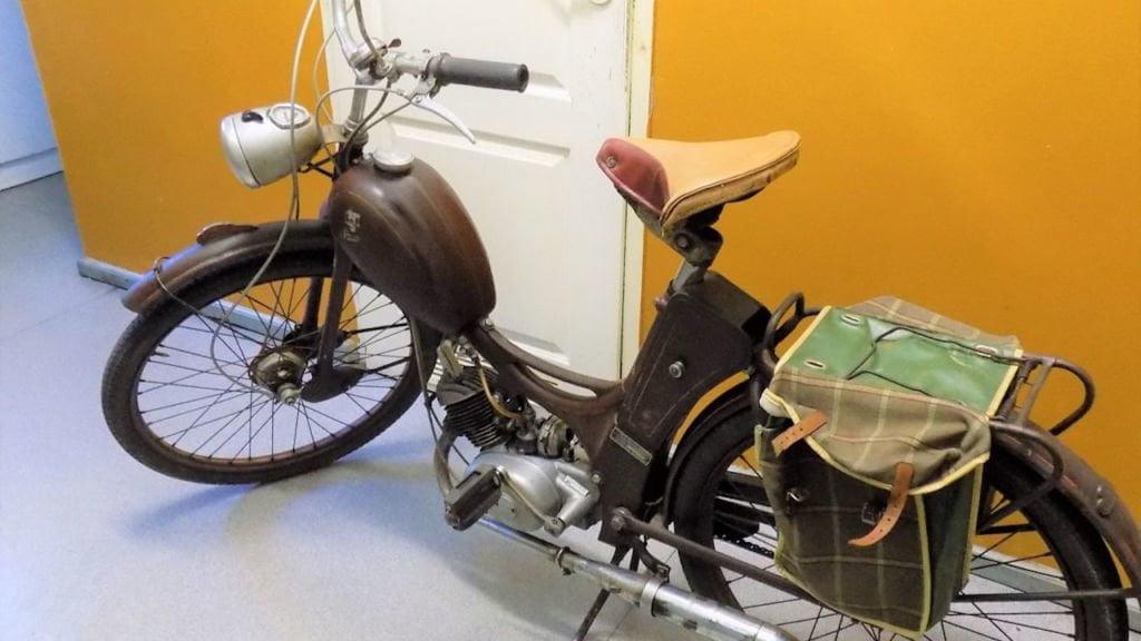 Zabytkowy motocykl skradziony na terenie Niemiec odzyskany 1