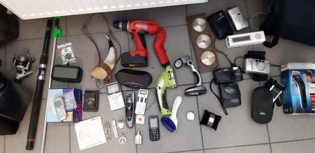 rzeczy z kradzieży