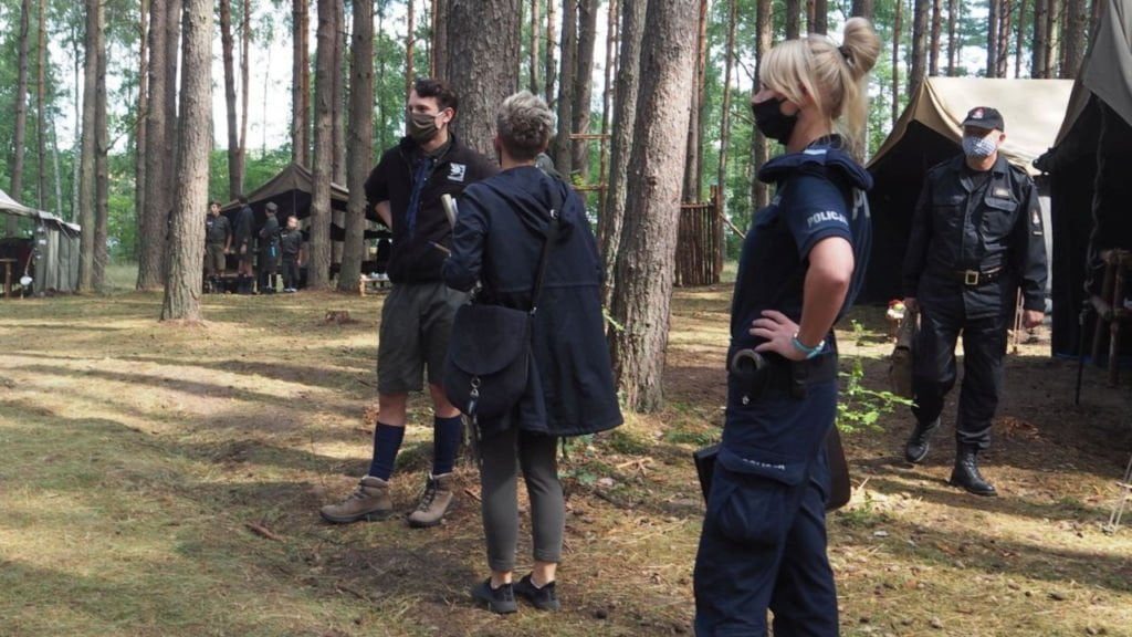 kontrole obozów letnich