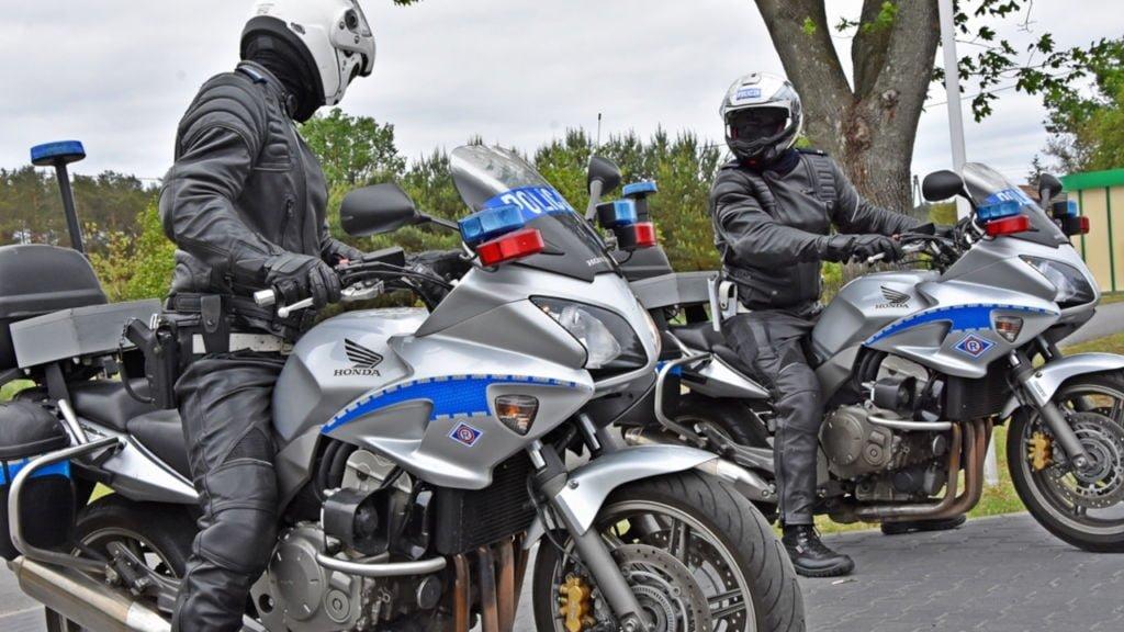 kontrole motocyklistów