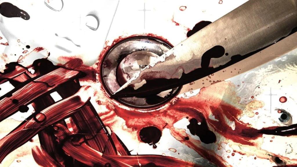 ugodzenie nożem