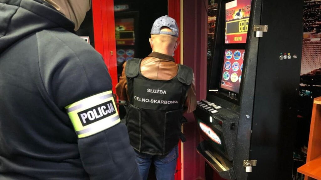 Nielegalny salon gier w Sulechowie