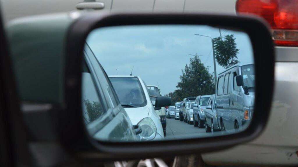 utrudnienia drogowe w Żaganiu