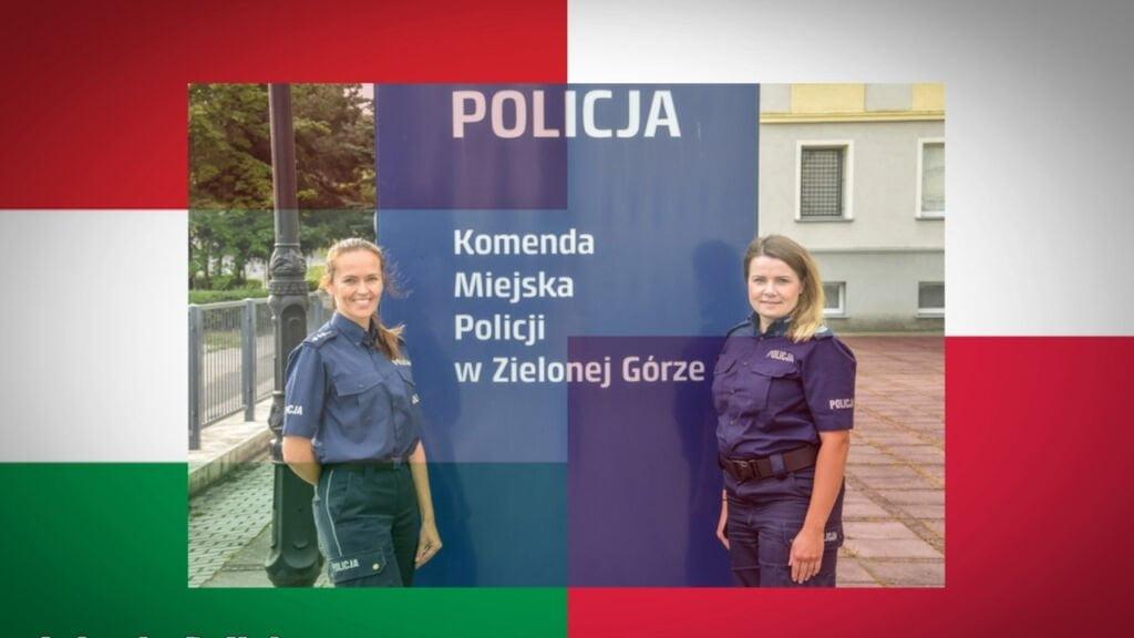 policjantki pomogły turyście