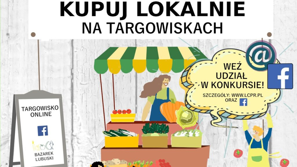 Kupujmy od lokalnych producentów. Do wygrania zestaw produktów regionalnych