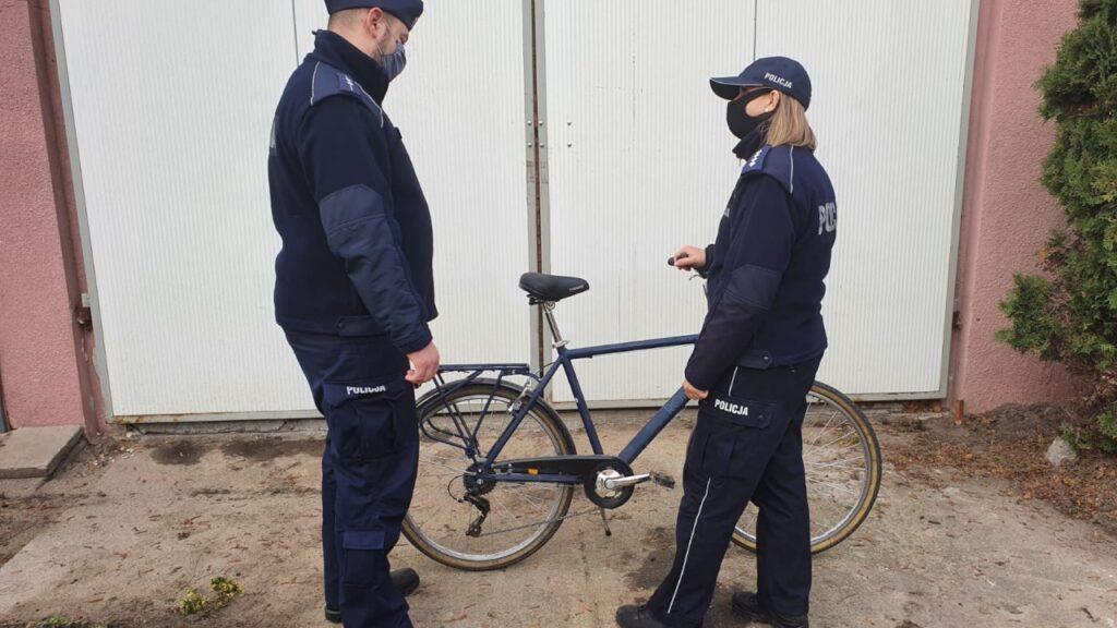Policjanci z Cybinki odzyskali kradziony rower