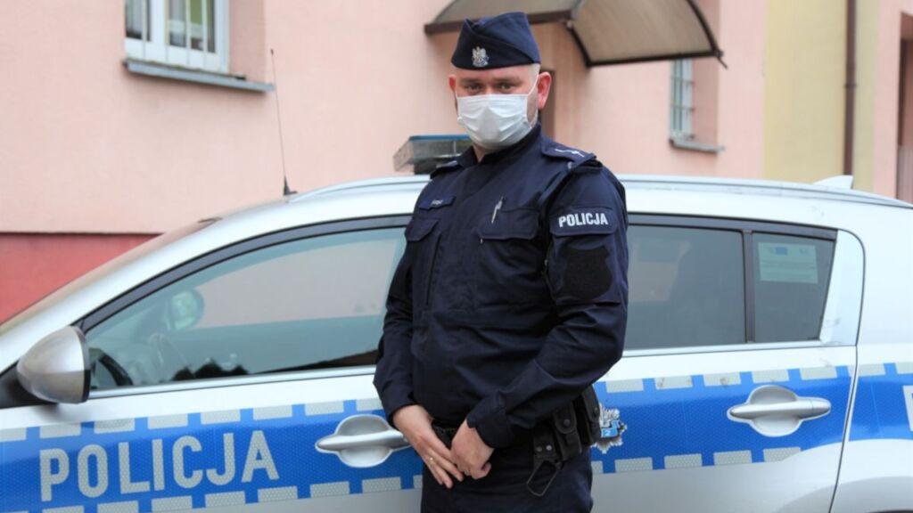 Policjant z Żar uratował kobietę, która chciała targnąć się na swoje życie.