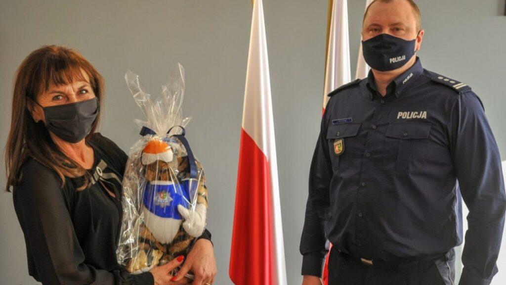 Burmistrz Otynia i Komendant Wojewódzki Policji po spotkaniu. Sojusz ukierunkowany na bezpieczeństwo