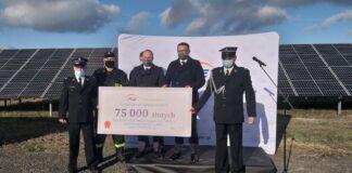 75 tys. zł darowizny dla OSP Strużka