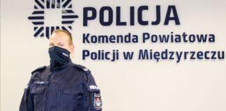 Starszy sierżant Mateusz Guzek rzucił się w pościg za złodziejem
