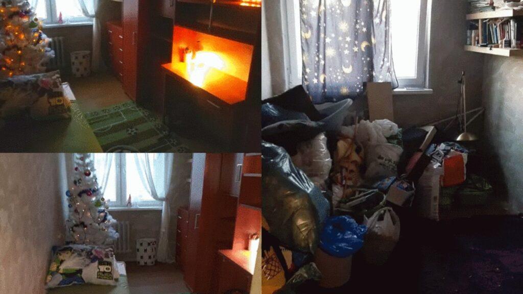 Nowa aranżacja mieszkania Kacpra i jego taty