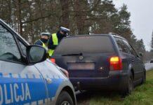 Kontrola drogowa w Bobrowicach