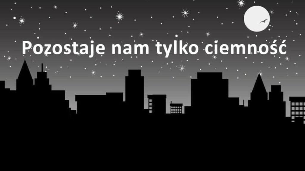 """Urząd Marszałkowski zgasł na godzinę. """"Pozostaje nam tylko ciemność"""". O co chodzi?"""