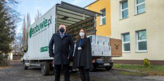 eobuwie.pl wsparło szpital tymczasowy w Zielonej Górze