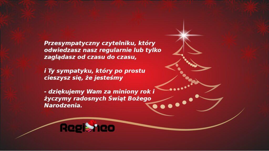 Życzymy Wam radosnych Świąt Bożego Narodzenia