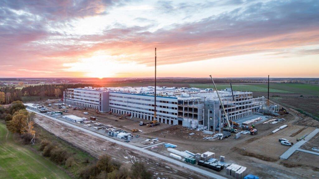 Budowa Amazon w Świebodzinie