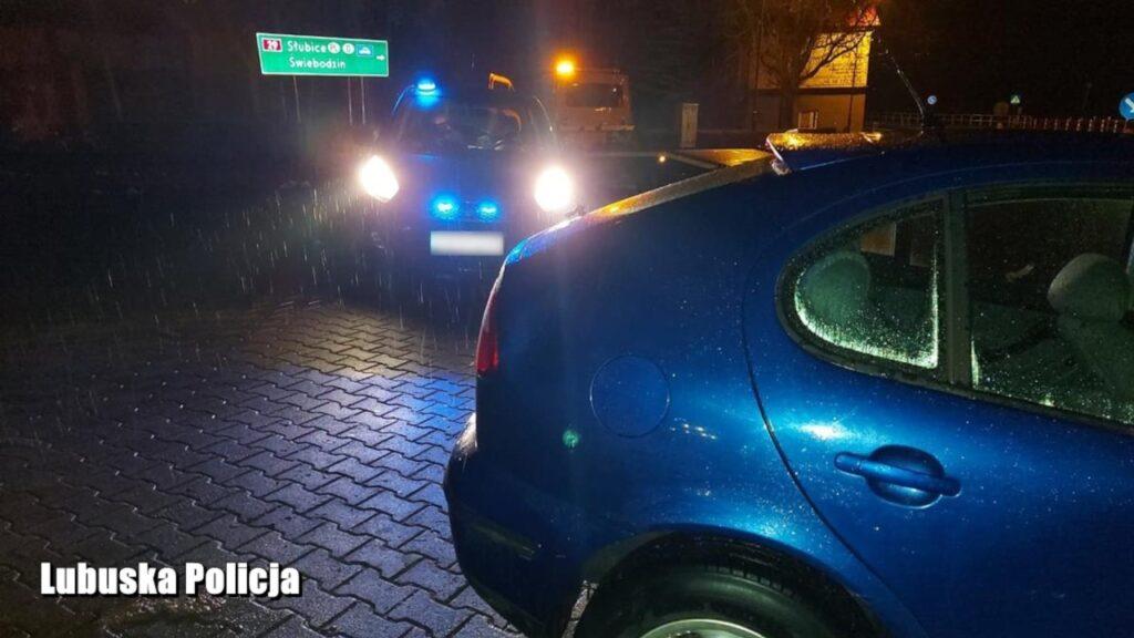 Tak się skończyły kontrole drogowe w Gubinie: pościg, 6 zatrzymanych kierowców, 3 prawa jazdy