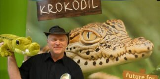 Dyrektor Zoo Goerlitz, i 1 wice-prezes ZGAP Dr Sven Hammer