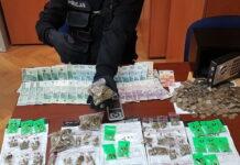 Narkotyki zabezpieczone w Zielonej Górze