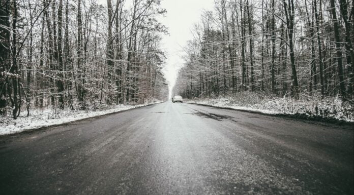 Zima na drogach