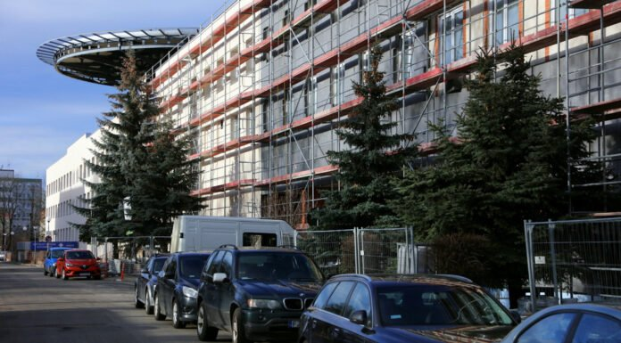 Remont szpitala w Zielonej Górze