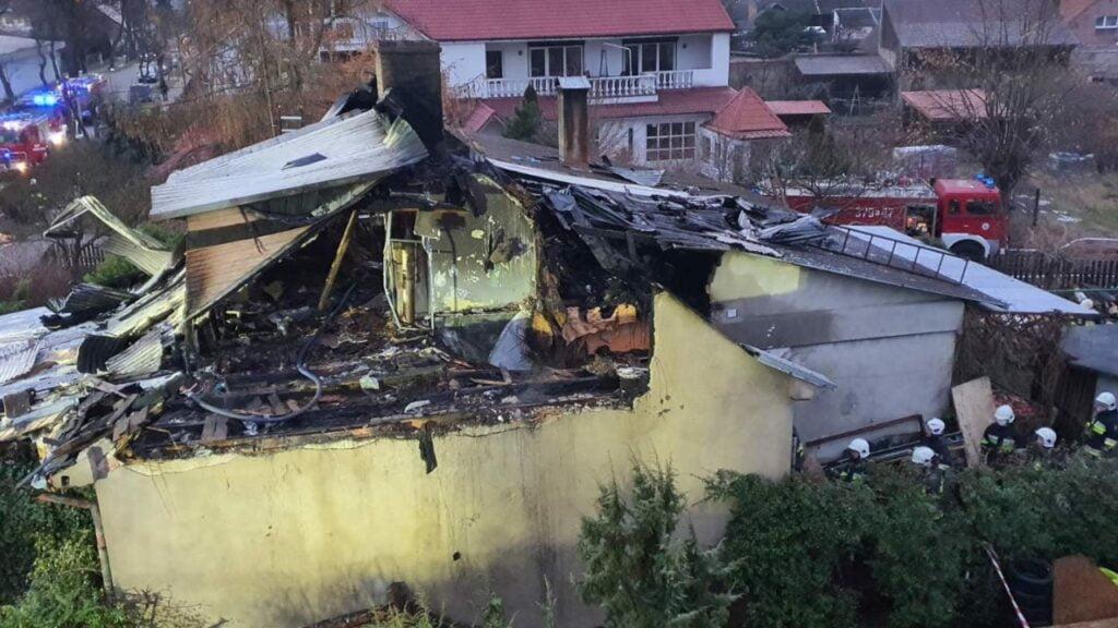 Burmistrz Skwierzyny prosi o pomoc dla pogorzelców