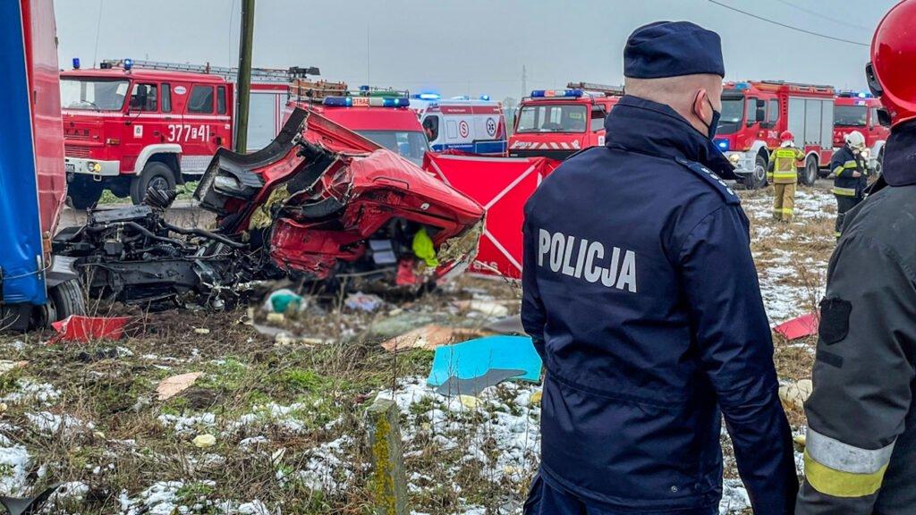 Wypadek w Chociszewie. Tragedia na torach
