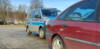 Kontrola drogowa w Krośnie Odrzańskim
