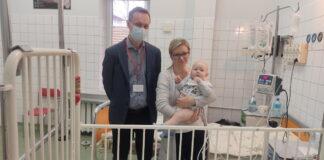 Joachim to 10-miesięczny chłopiec, który od urodzenia cierpiał na bardzo ciężką postać choroby Hirschsprunga