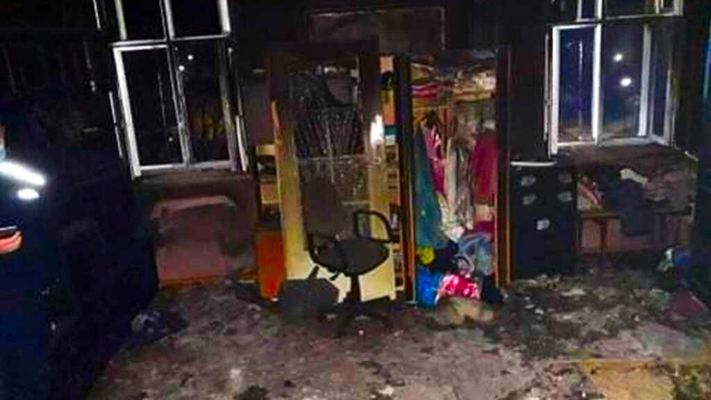 Podpalił mieszkanie a potem przyglądał się akcji ratowniczej i ewakuacji
