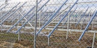 Rozgrabiona farma fotowoltaiczna koło Iłowej