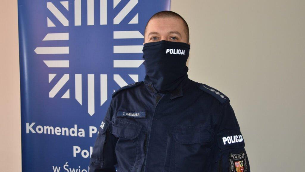 Próba samobójcza w Świebodzinie. Dzielnicowy uratował 24-latkę w ostatniej chwili