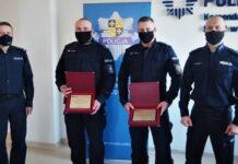 Policjanci z Sulęcina odebrali wyróżnienia