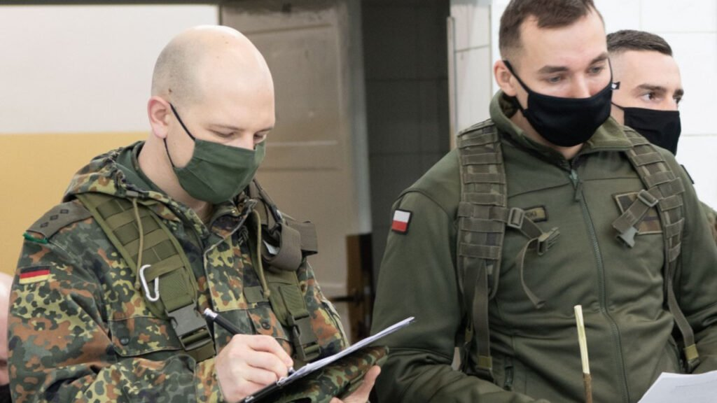 Kuna-21. Wspólne polsko-niemieckie ćwiczenia w Świętoszowie