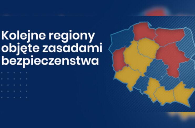 Lockdown w woj. lubuskim i mazowieckim