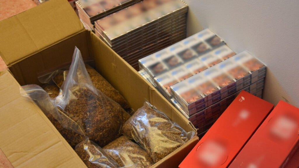 Nielegalne papierosy zabezpieczone w Żaganiu