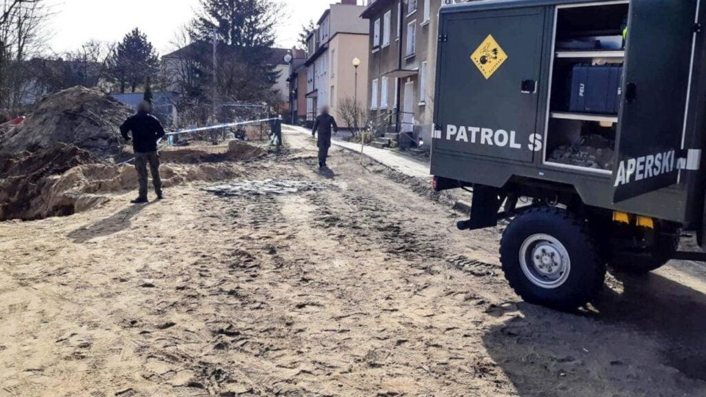Niewybuchy w Zielonej Górze. Saperzy z Głogowa zneutralizowali kilkanaście granatów i amunicję