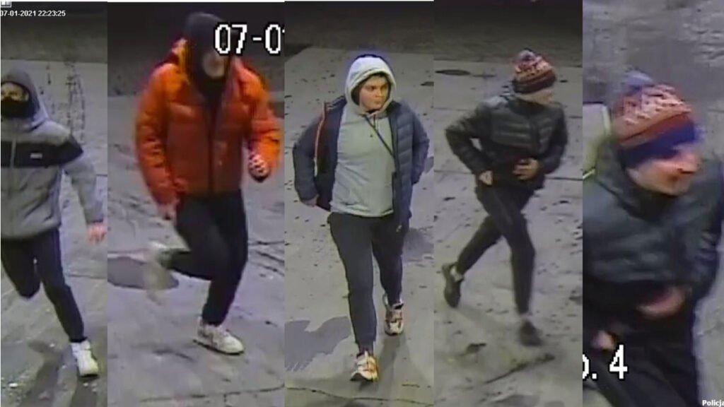Pobicie obywatela Ukrainy pod McDonald's. Szuka ich policja. Rozpoznajesz któregoś?