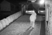 Kradzież portfela z samochodu zarejestrował monitoring