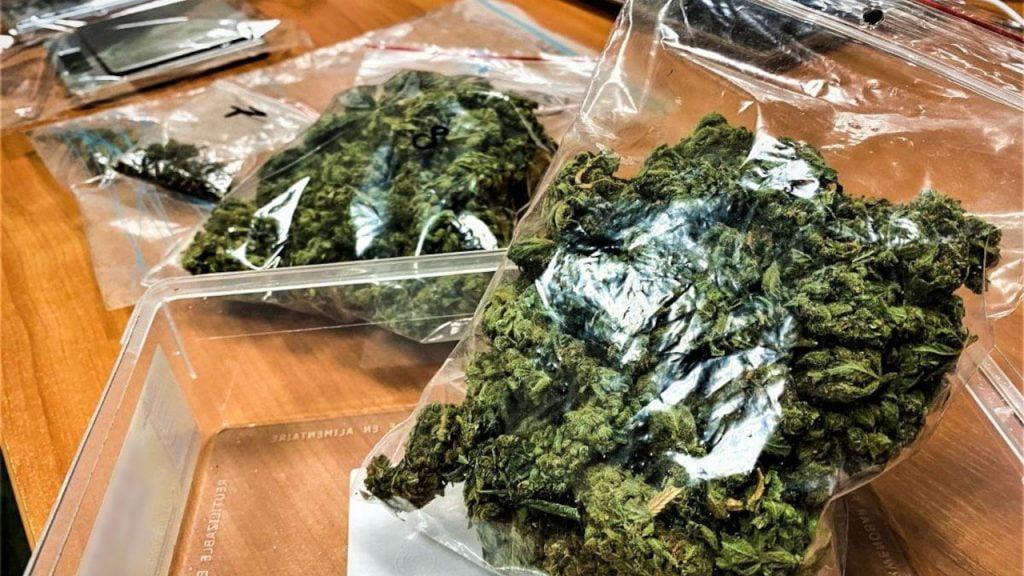Policjanci wzięli go za włamywacza. 20-latek przechowywał marihuanę w piwnicy