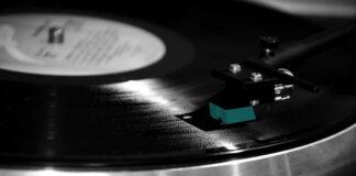 Płyta winylowa na gramofonie