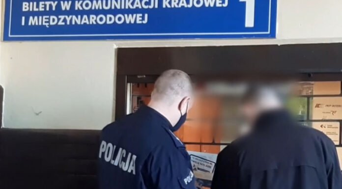 Tajemniczy pasażer pociągu relacji Berlin - Warszawa