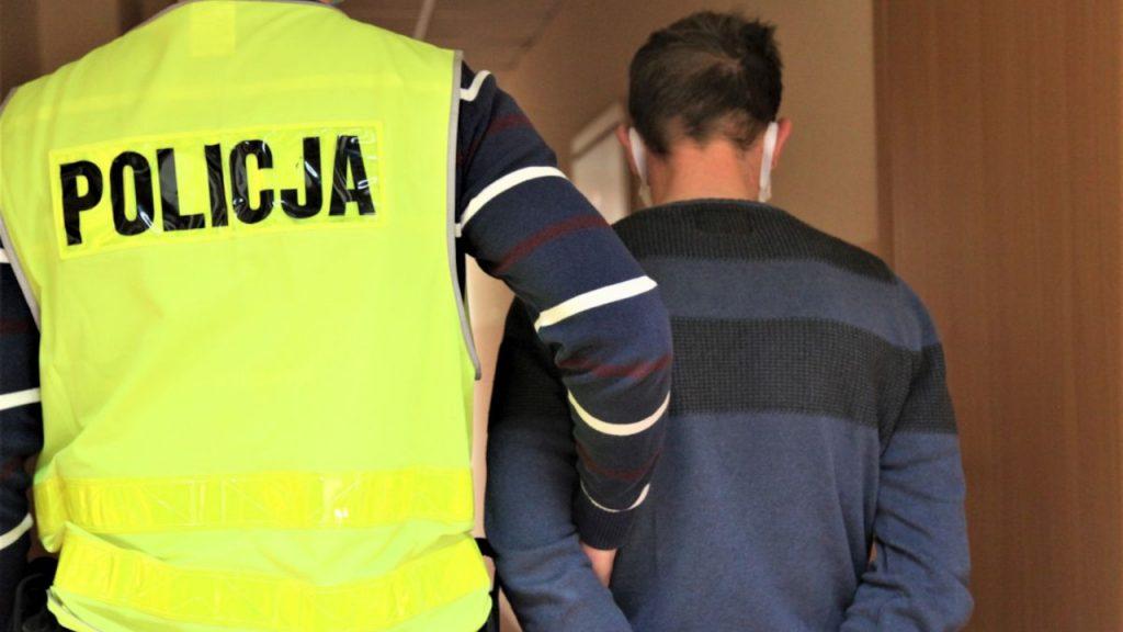 Kryminalni zatrzymali poszukiwanego 5 listami gończymi