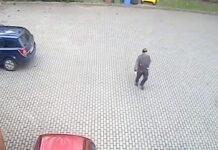 Kradzież laptopa z zaparkowanego samochodu