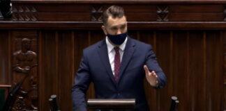 Poseł Mejza - debata nad KPO