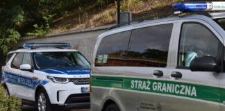 Straż Graniczna i Polizei