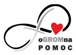 Logo akcji oGROMna POMOC