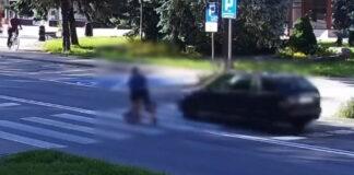 O krok od tragedii na przejściu dla pieszych w Krośnie Odrzańskim