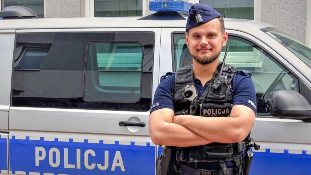 Policjant podczas urlopu zatrzymał złodzieja